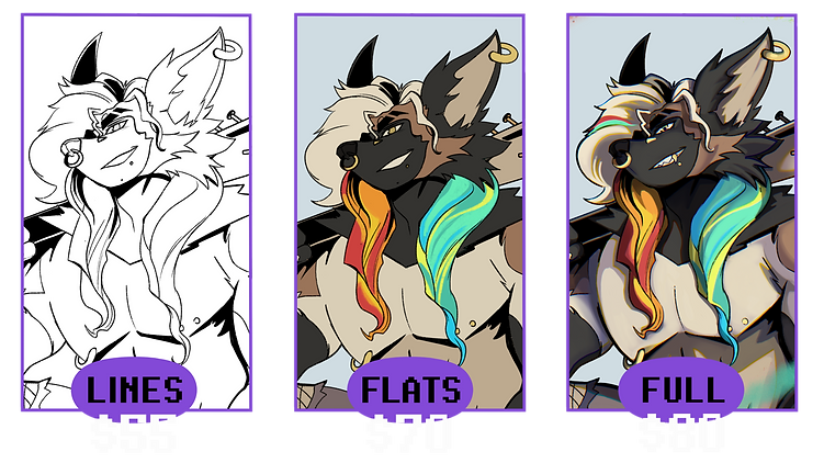 Wynfullart Bust Commission Rates