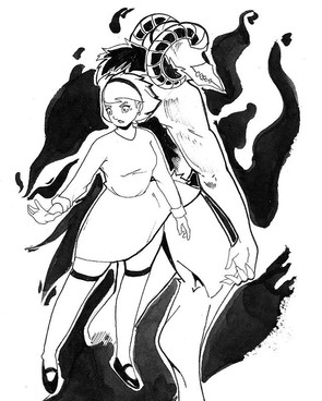 INKTOBER - THE CHILLING ADVENTURES OF SABRINA