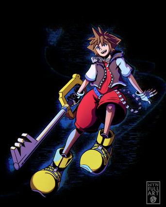 """""""I really flew"""" - Kingdom Hearts Fanart"""