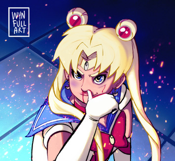 Sailor Moon Redraw Challenge (Version 1)