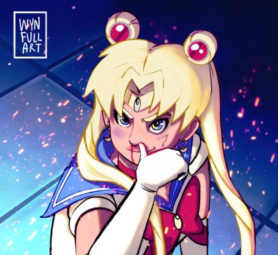 Sailor Moon Redraw Challenge (Version 1)
