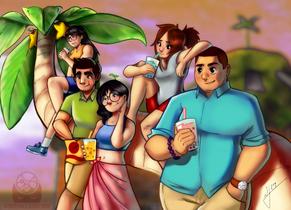 Destiny Islands and Tea