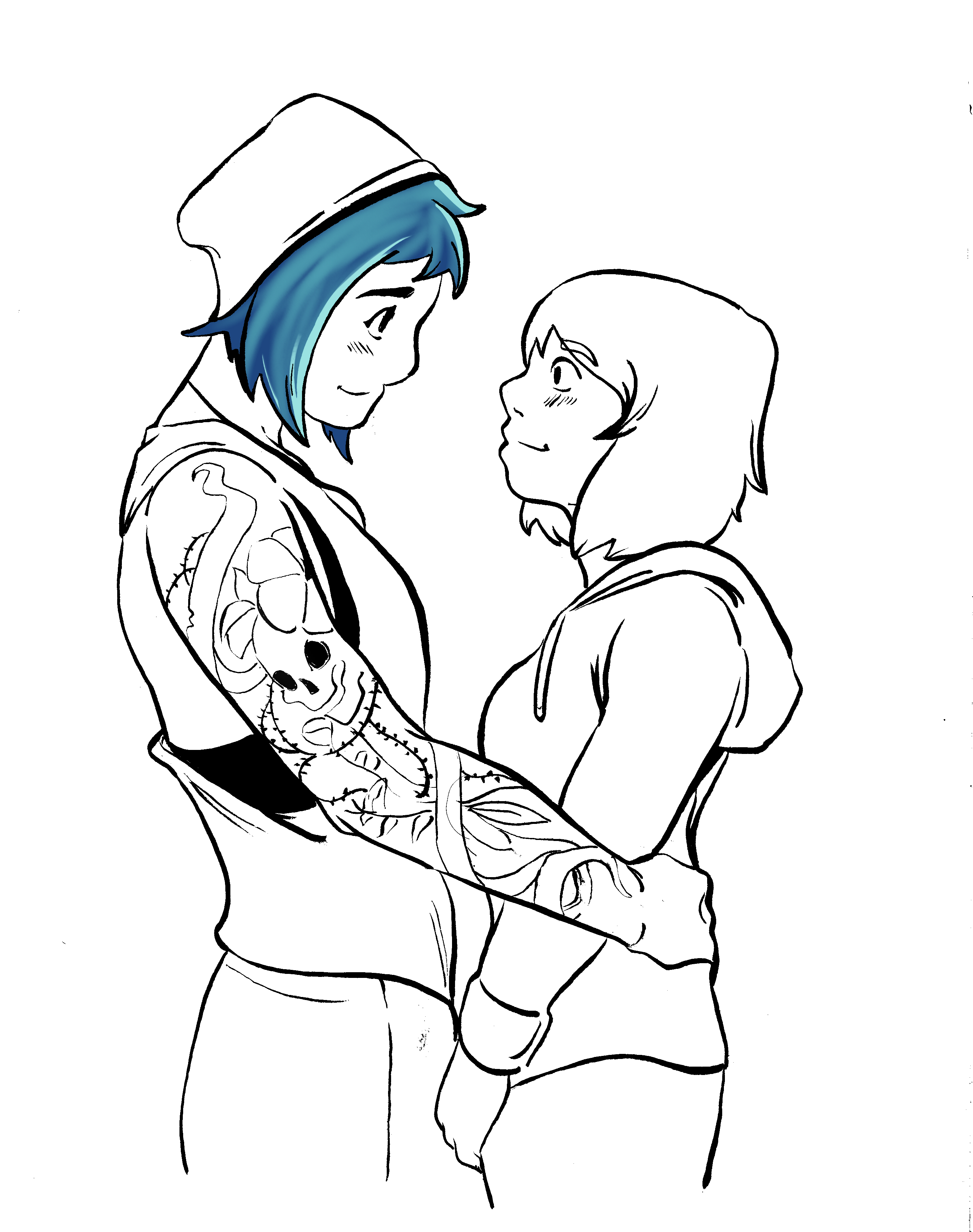 """MAX AND CHLOE (From """"Life Is Strange"""")"""