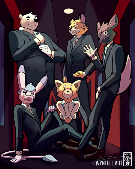 Men of Aggretsuko (Redux)