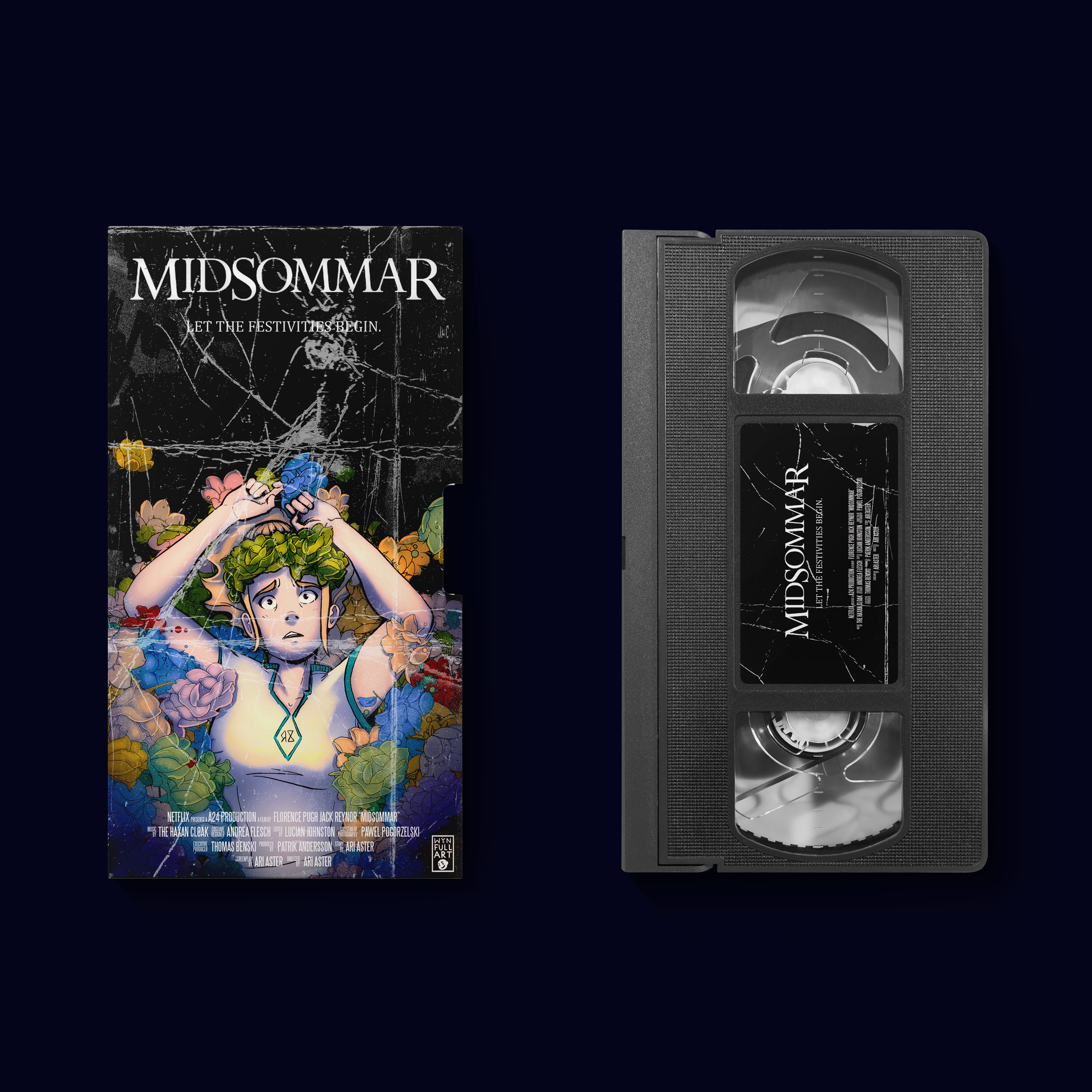 MIDSOMMAR VHS COVER