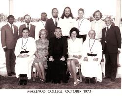 Mazenod College Staff 1973