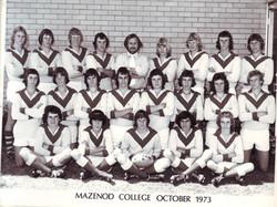 1st XVIII, Football team 1973