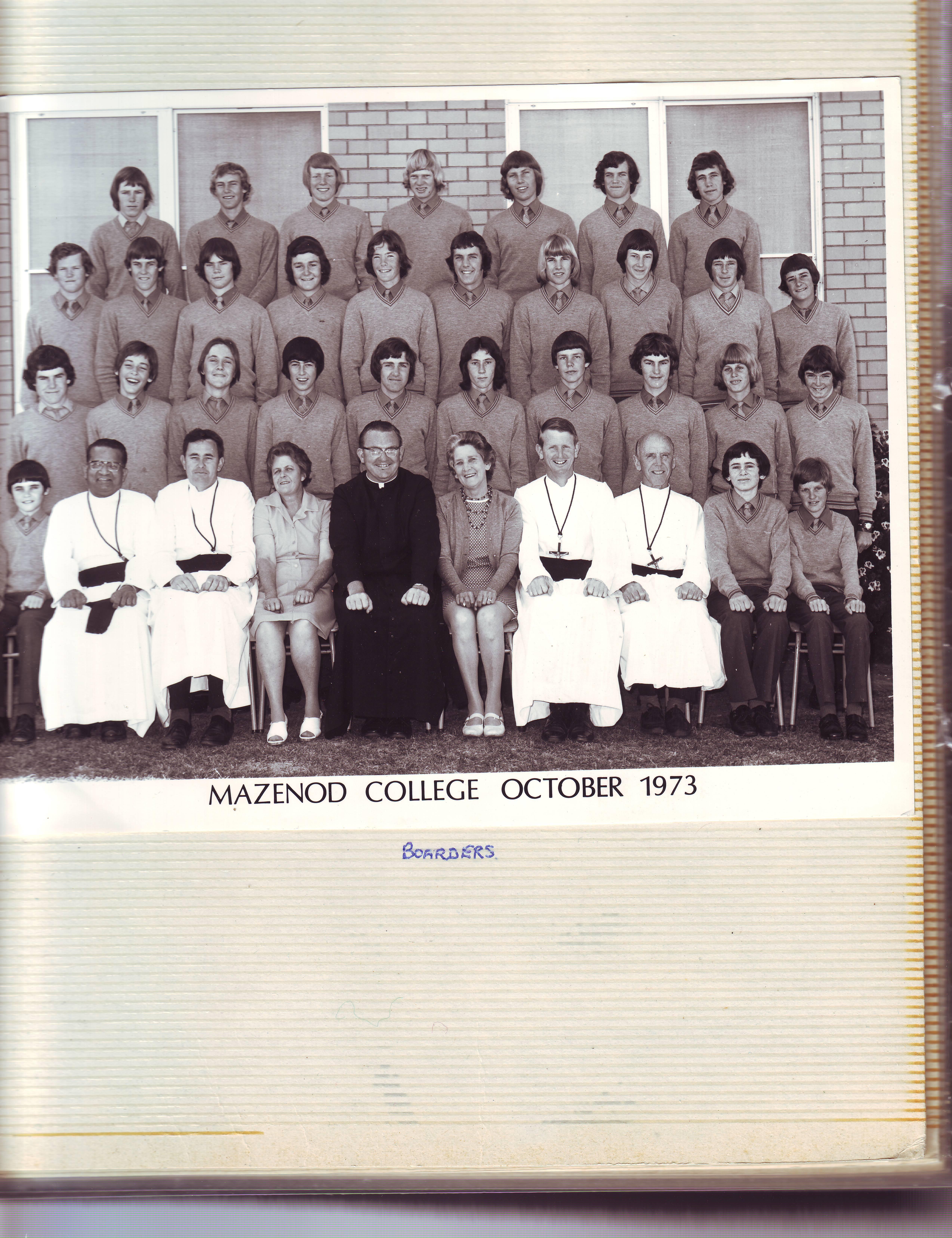 Boarders & Boarding Staff, 1973