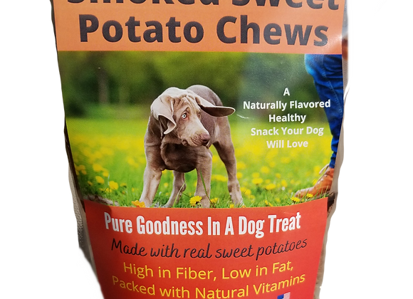 Smoked Sweet Potato Dog Chews Naturally Delicious