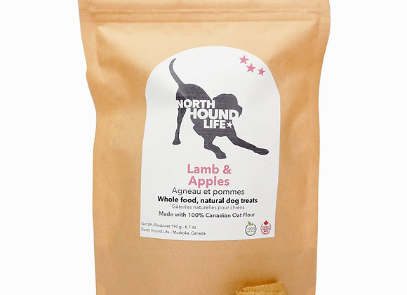 North Hound Life Lamb and Apples Cookies  (3 Bags)