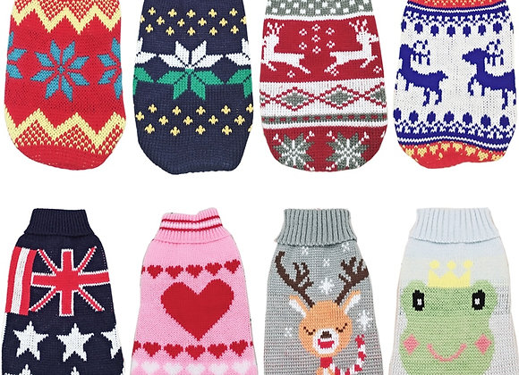 Sweater Pullover Dog Clothes for Small Dogs eg Chihuahua Yorkies