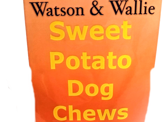Sweet Potato Dog Chews Naturally Delicious