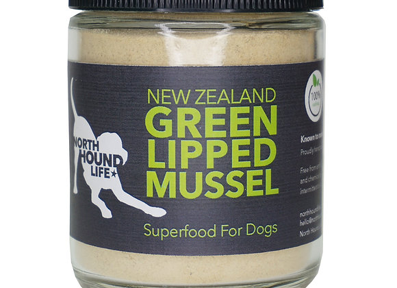 North Hound Life New Zealand Green Lipped Mussel Powder: Superfood for Dogs