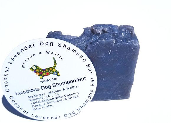 Luxurious Coconut & Lavender Foamy Shampoo Bar For Dogs