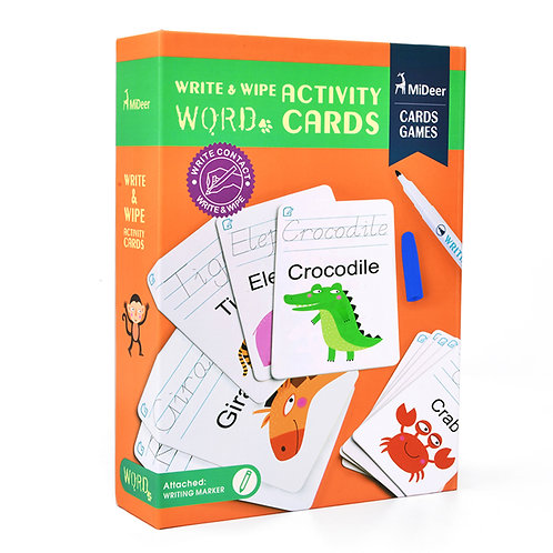 Write and Wipe Cards