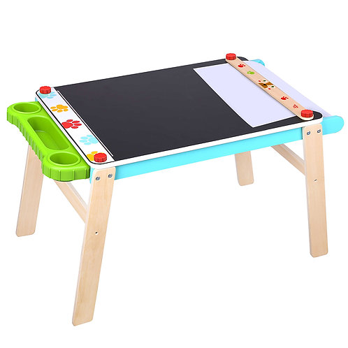 2-in-1 Chalkboard & Art Table