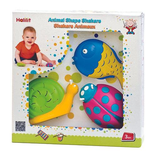 Animal Shape Shakers Gift Set of 3