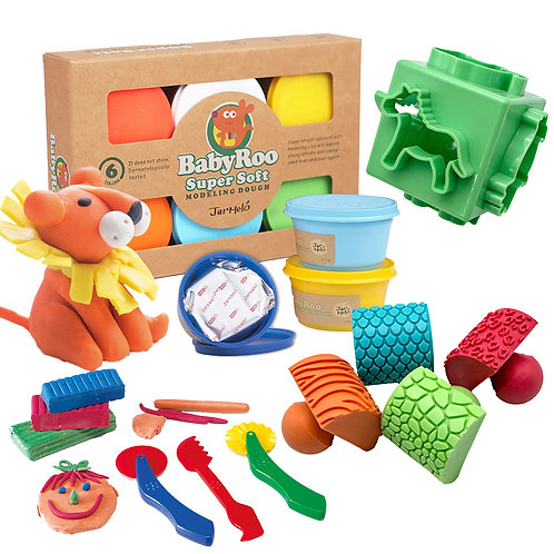 Anthony Peters Dough and Tools - Animal Set