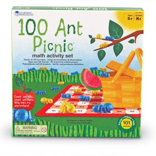 100 Ant Picnic Maths Activity Set