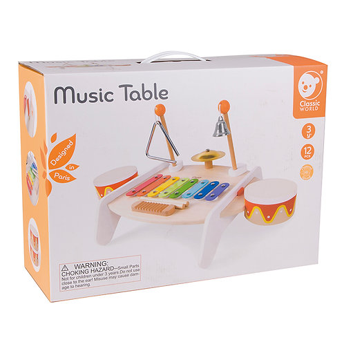 Music Table - 12 pc