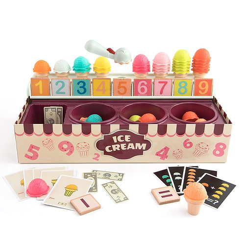 My Ice-cream Scoop - A Colour Number Matching Game