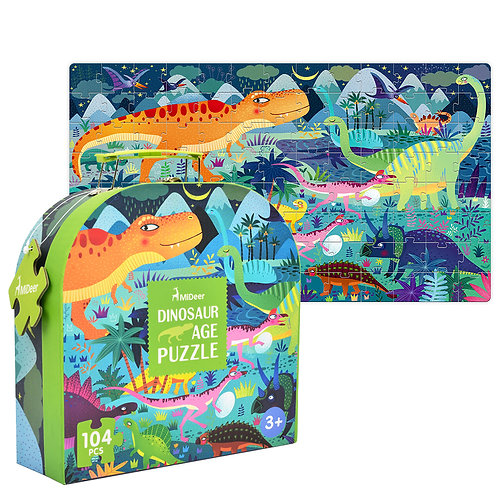 Gift Box Puzzle - 104pcs