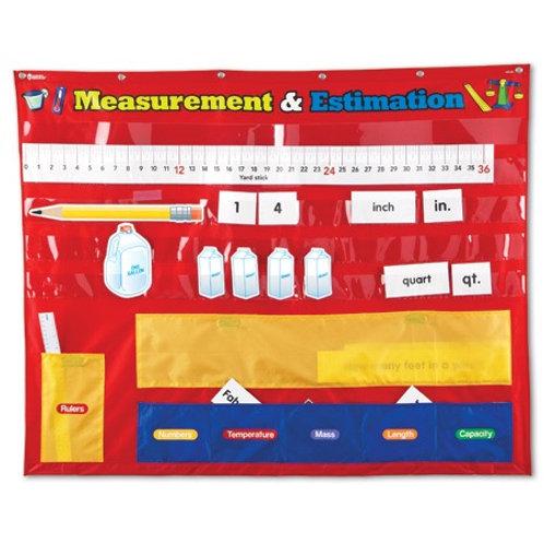 Pocket Chart Measurement and Estimation