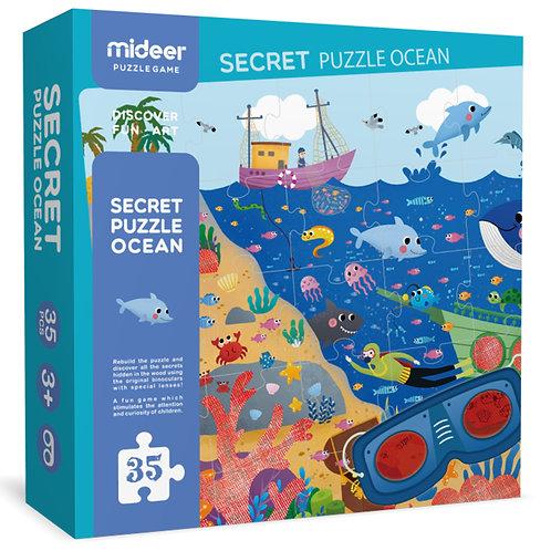 Puzzle Secret - Ocean - 35pcs