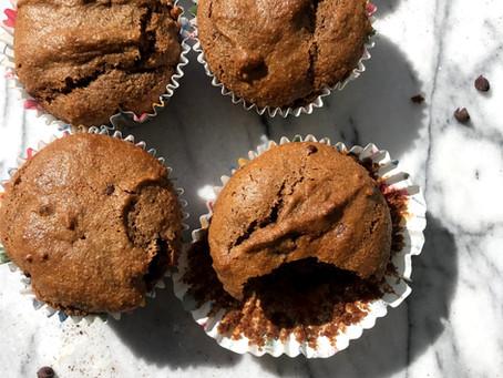 GF Chocolate (w/Mocha) Cupcakes