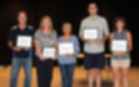 GEEF Teacher/Staff Award Winners