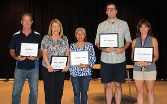 GEEF Teacher/Staff Award Winners
