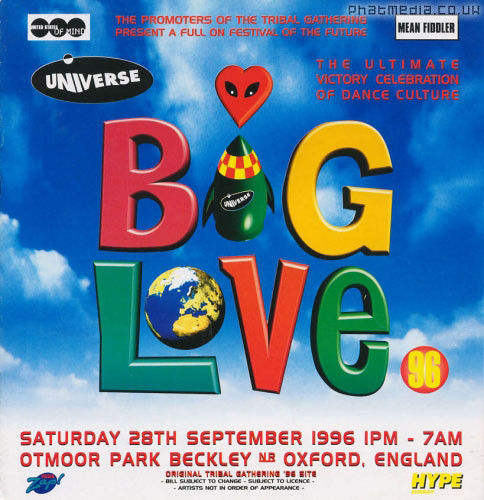 BIG LOVE 96 - Oxford