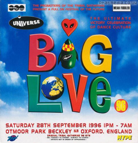 BIG LOVE 96 - Oxford