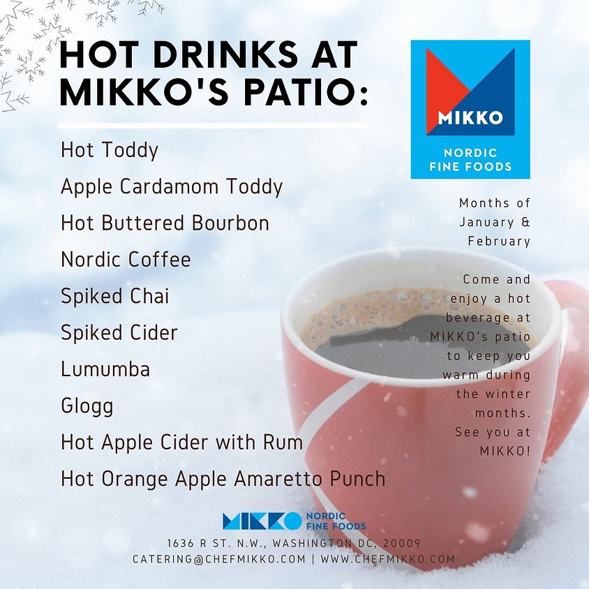 Hot Drinks at MIKKO Patio