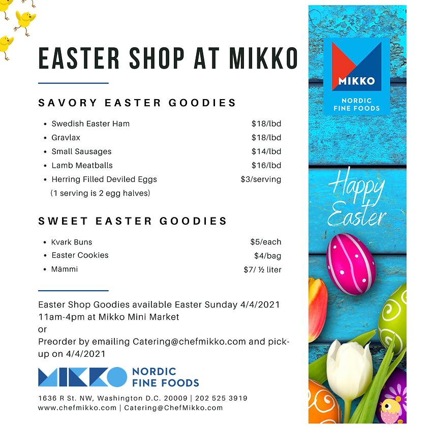 Easter Shop at MIKKO