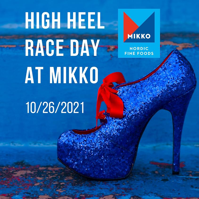 High Heel Race Day at MIKKO