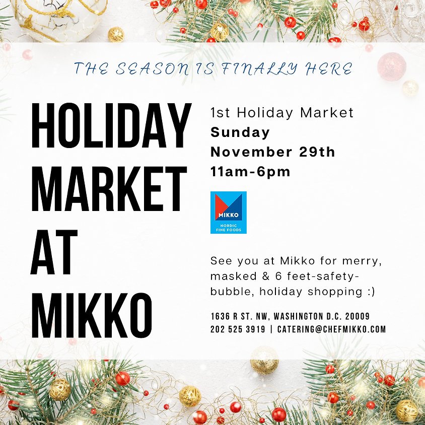 Holiday Market at MIKKO