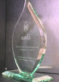 'Happy to Help' wins NODA Flame Award