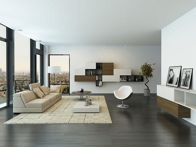 Lakás modern berendezéssel