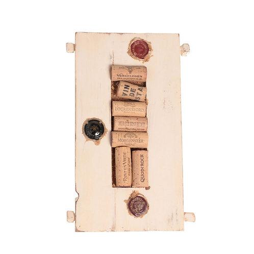 Картина з Колекції корків від вина / Framed Wine Corks Wall Decor