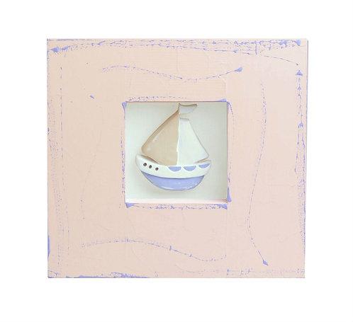 """Картина """"Вітрильник"""" / Framed """"Sailboat"""" Wall Decor"""