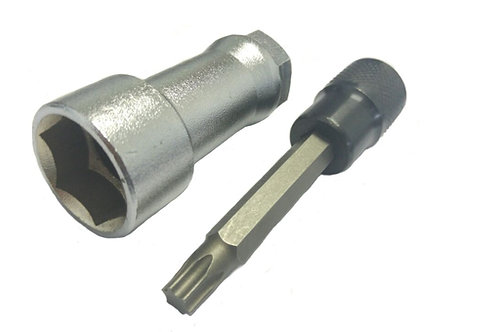 208 - Chave sextavada de 24mm e chave Torx T50.