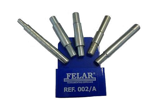 002A - Jogo com 5 pinos para centralizar embreagem.