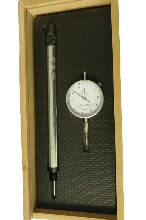 126A - Conjunto c/ Relógio comparador e Suporte 126.