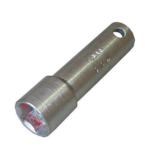 004 - Chave de vela de 21mm c/ encaixe 1/2.