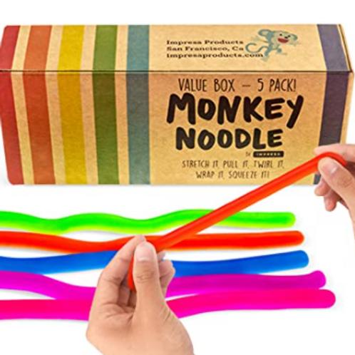 Monkey Noodle Sensory Fidget Toys