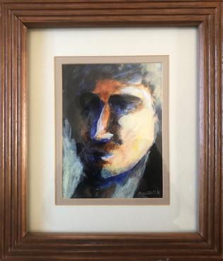 Looking Right (framed)