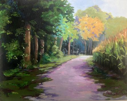 Morning Near a Cornfield - Sold