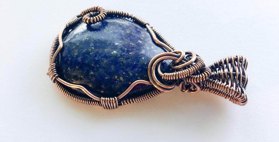 Blue Lapis Lazuli Teardrop