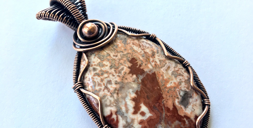 Crazy Lace Agate Oval